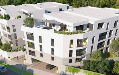 Montpellier au coeur d'un quartier résidentiel