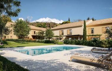 Aix-en-Provence quartier calme de Luynes