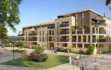 Aix-en-Provence quartier de la Duranne