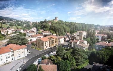 Albigny-sur-Saône en plein coeur de ville