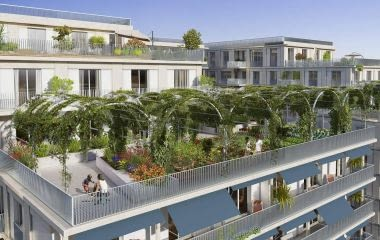 Bordeaux proche du futur Pont Simone Veil