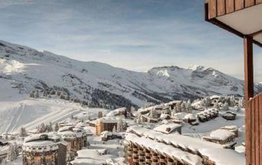 Morzine en plein coeur de la station de ski Avoriaz