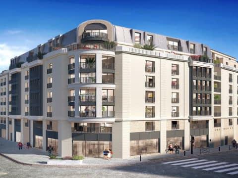 Programme immobilier neuf Neuilly plaisance boulevard Gallieni
