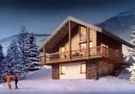 Résidences de Tourisme à la Montagne à Les Avanchers-Valmorel 73260 : 1 programmes neufs