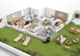 Immobilier neuf à Lyon 69000 : 36 programmes neufs