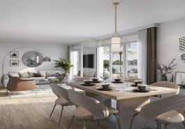 Immobilier neuf à Villeurbanne 69100 : 27 programmes neufs