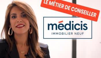 Interview : Afaf, conseillère immobilier neuf chez Médicis Immobilier Neuf, vous présente son métier