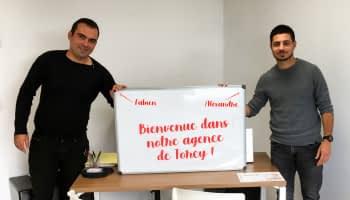 Un duo de choc pour notre agence de Torcy  | Médicis Immobilier Neuf