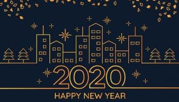 Immobilier 2020 : nous vous souhaitons une belle année immobilière