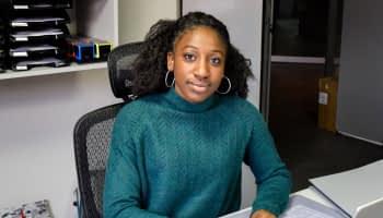 Khoudjédiata Ndiaye, championne d'athlétisme et de compta