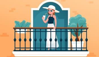 Terrasse ou balcon, ces extérieurs qui font grimper les prix de l'immobilier
