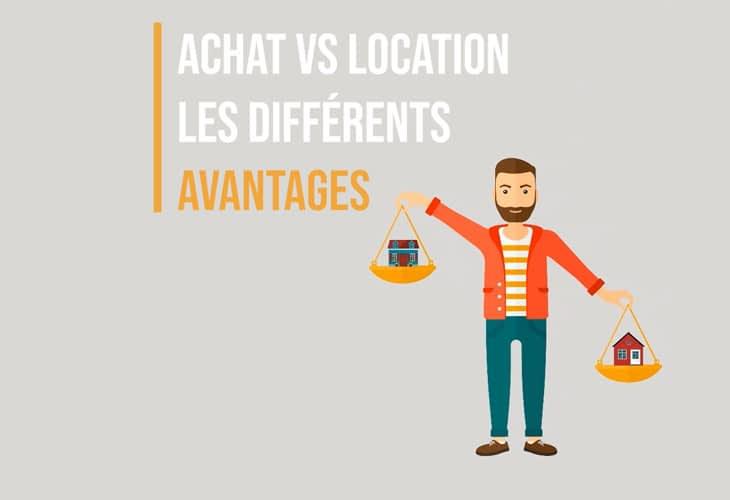 Achat VS location quels sont les avantages ?