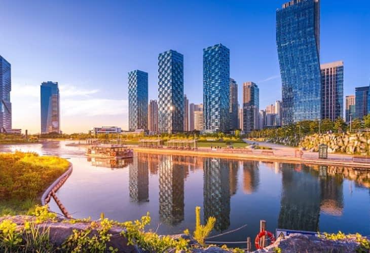 Bienvenue à Songdo, LA Smart City ultra-connectée coréenne