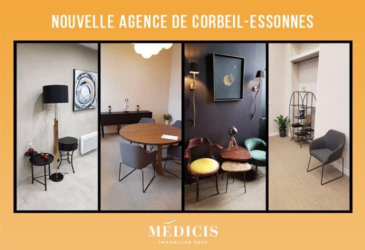 Ça déménage pour nos agences de Toulon et de Corbeil-Essonnes | Médicis Immobilier Neuf