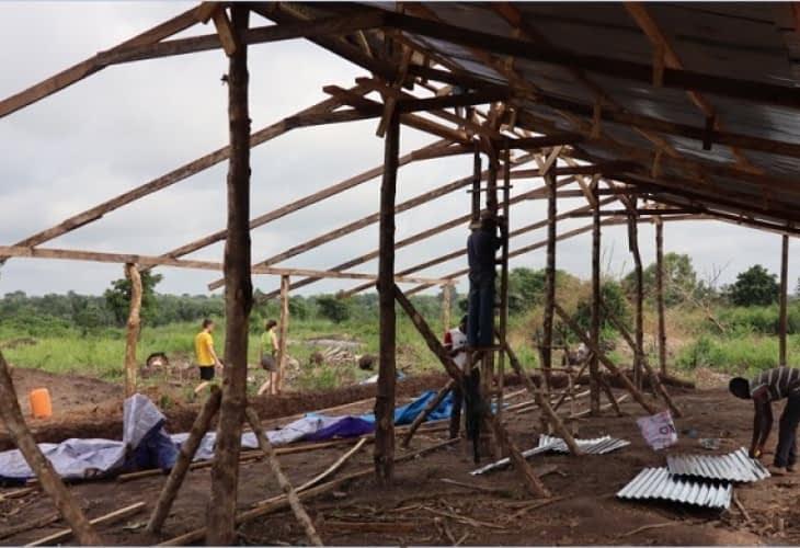 Des « écomaisons des solidarités » construites au Togo par des étudiants français