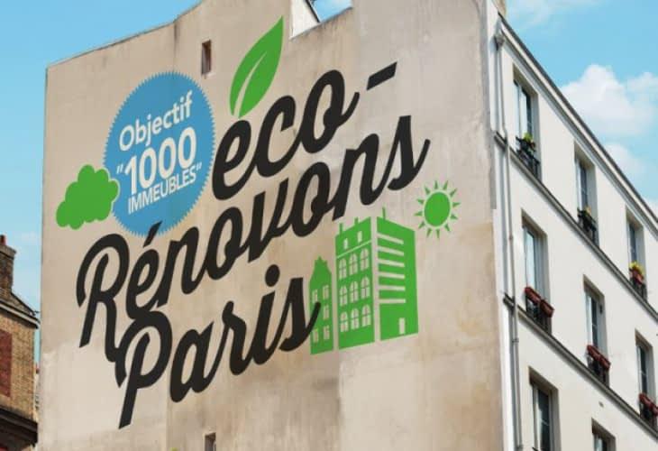« Eco Rénovons Paris », 1 000 immeubles parisiens rénovés