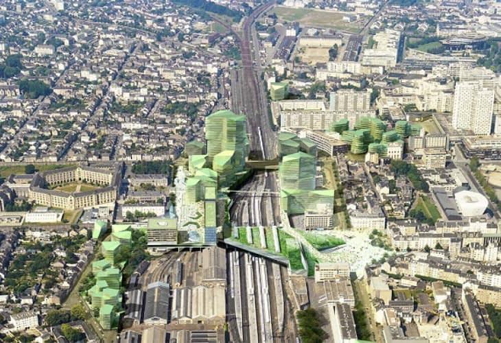 Eurorennes : Rennes fait peau neuve pour l'arrivée du TGV