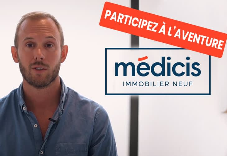 Interview : Florent, manager d'agence chez Médicis Immobilier Neuf