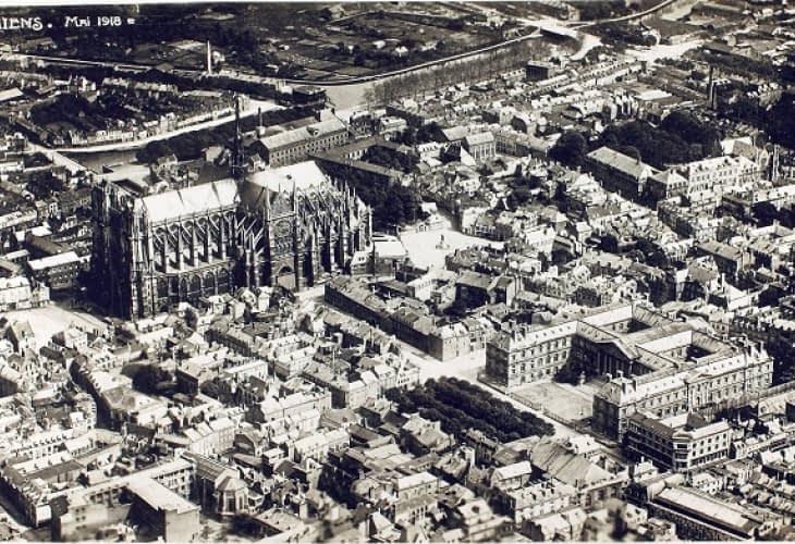 Immobilier à Amiens : une université dans l'ancienne citadelle militaire