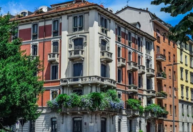 Immobilier à Milan : 3 millions d'arbres supplémentaires en 2030