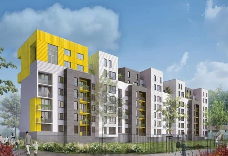 Immobilier à Nanterre : des maisons sur les toits des HLM