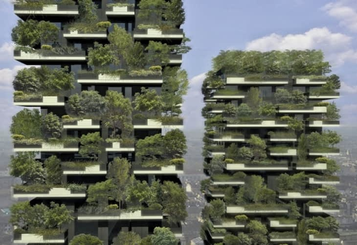Immobilier écologique de demain : Milan accueille un « immeuble-forêt »
