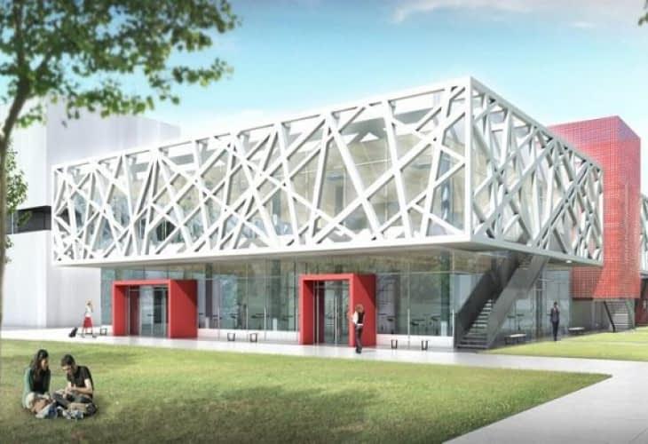 Inspiration végétale pour l'université Toulouse II-Mirail
