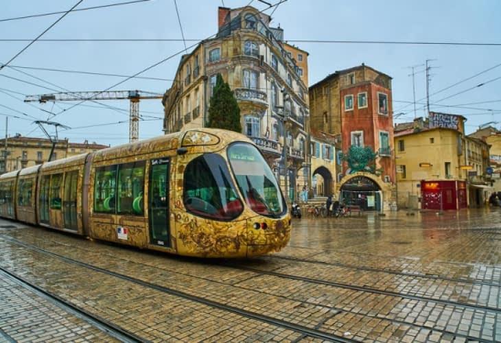 Le tramway de Montpellier est le plus beau de France