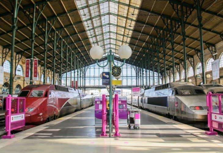Les gares parisiennes font peau neuve