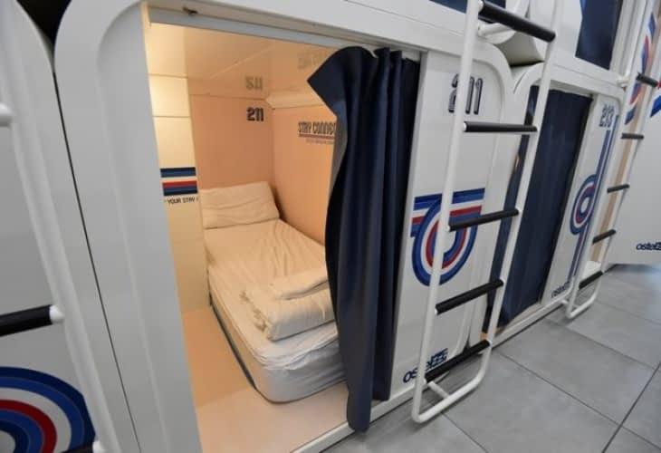 Les hôtels capsules arrivent en Europe