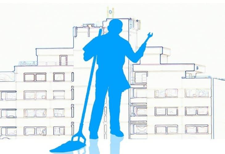 Les métiers de l'immobilier : le salaire des concierges