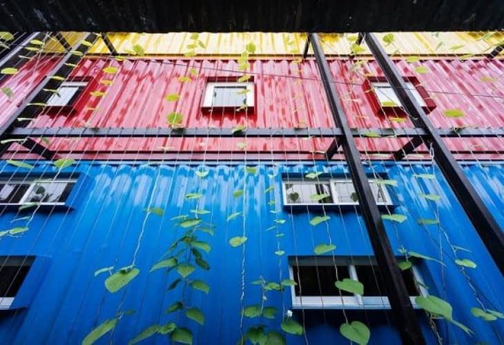 Passez une nuit dans un hôtel-container au Vietnam