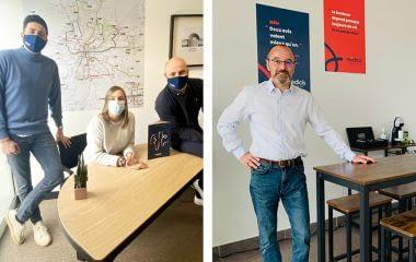 Rennes & Grenoble : le retour des équipes en agence