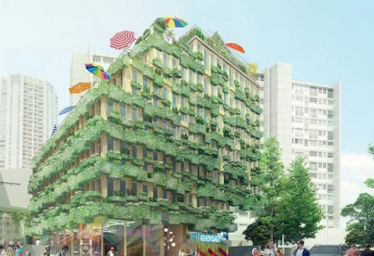 Un immeuble sans charges pour le concours Réinventer Paris