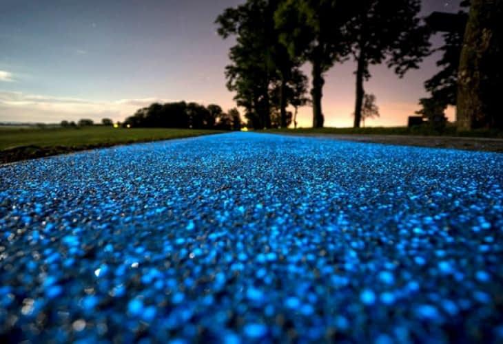 Une piste cyclable qui s'éclaire seule en Pologne