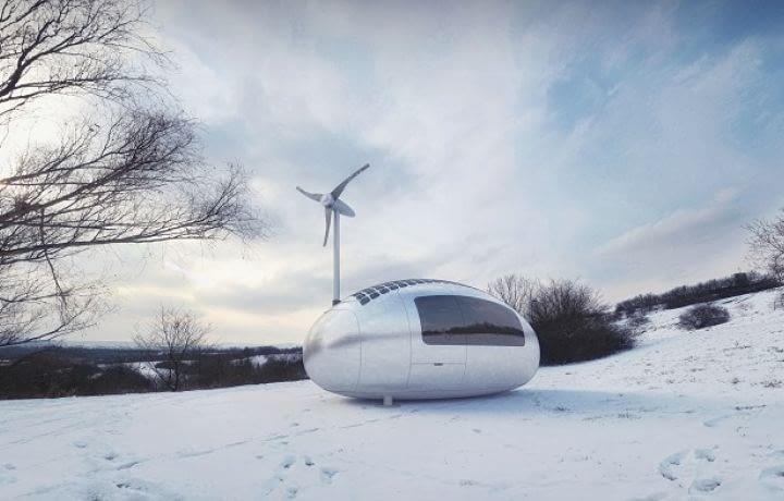 L'écocapsule, la maison mobile du futur