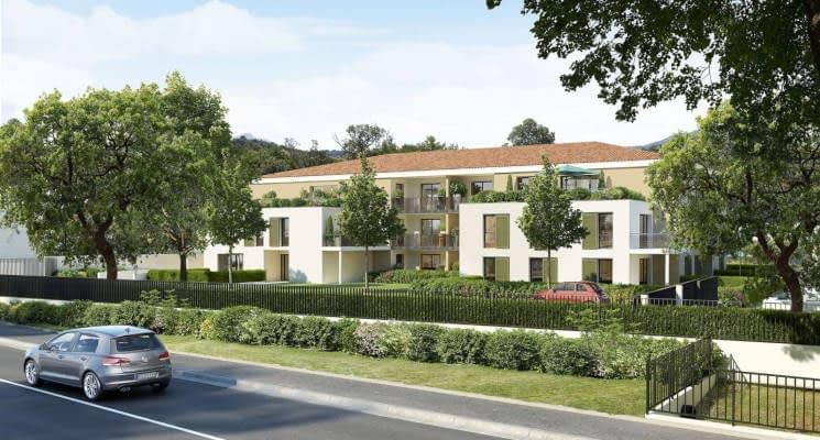"""Aix-en-Provence secteur """"Jardins de Bibémus"""""""