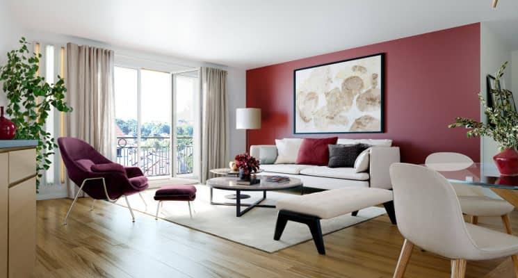 Programme Immobilier Neuf Clamart Quartier Jardin Parisien 92140