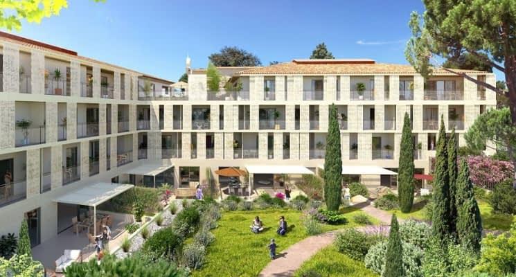 Montpellier quartier des beaux-arts