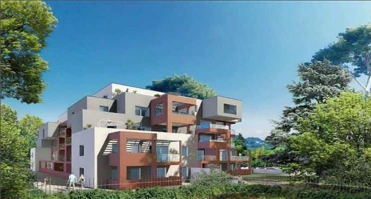Montpellier résidence d'exception quartier Croix d'Argent