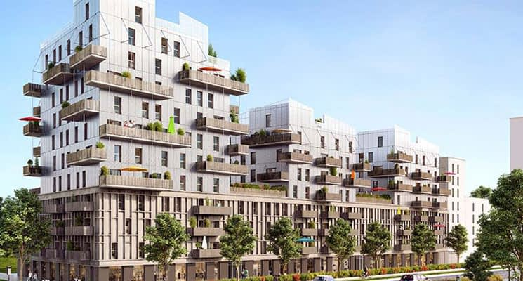 Programme immobilier neuf strasbourg proche jardin des for Immobilier strasbourg neuf