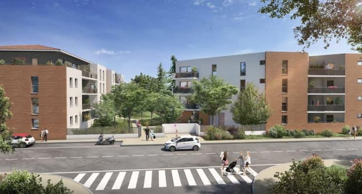 Toulouse quartier des Trois-Cocus