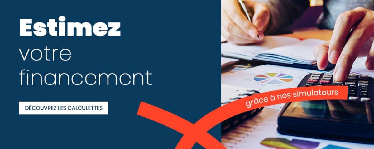 Calculez votre capacité d'emprunt, vos mensualités de crédit ou encore vos frais de notaire, c'est possible !