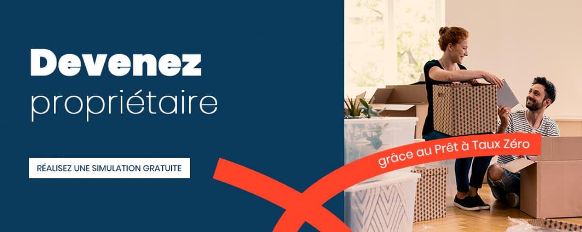 C'est le moment d'acheter votre première résidence principale dans le neuf grâce au PTZ+, le prèt à 0% d'intérêts !