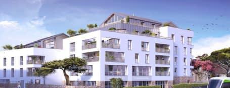 Nantes quartier résidentiel des Hauts-Pavés