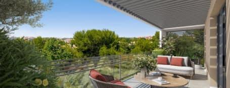 Aix-en-Provence,  résidence au calme et moderne à Saint Mitre