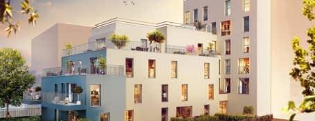 Programme immobilier neuf à Aubervilliers proche centre-ville