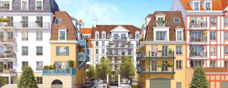 Blanc-Mesnil nouveau Quartier de la Gare