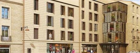 Bordeaux quartier historique de Saint Michel