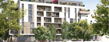 Epinay-sur-Seine au centre, proche du tramway 8